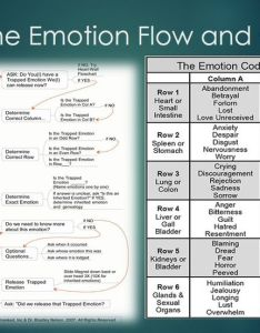 Emotion code flow chart also the body emotions what is and how it changes lives rh thebodyemotions