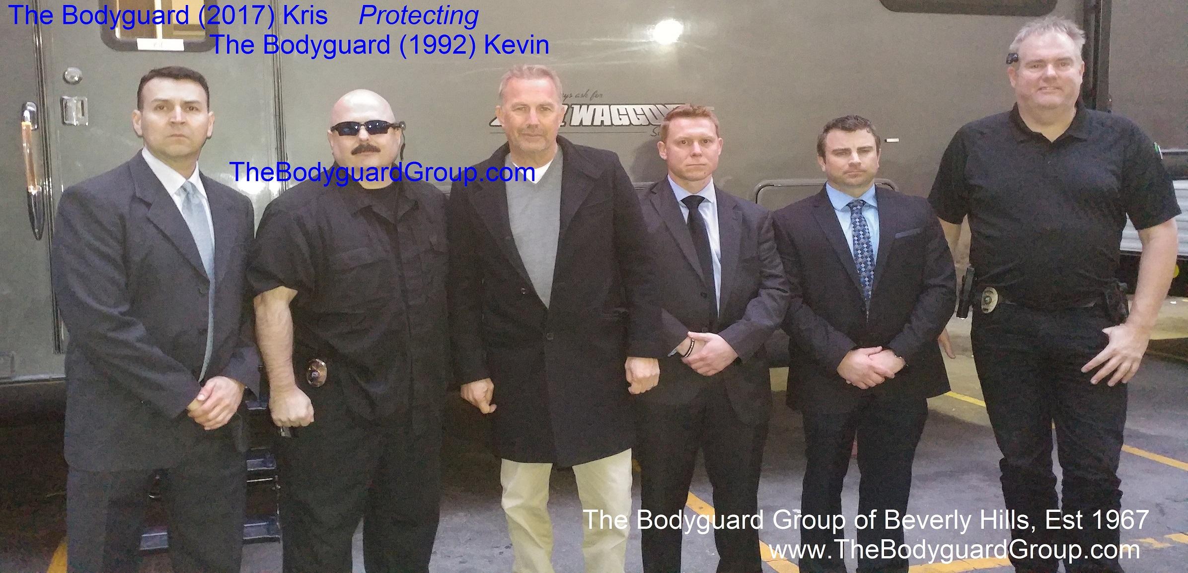 Big Bodyguards Hire