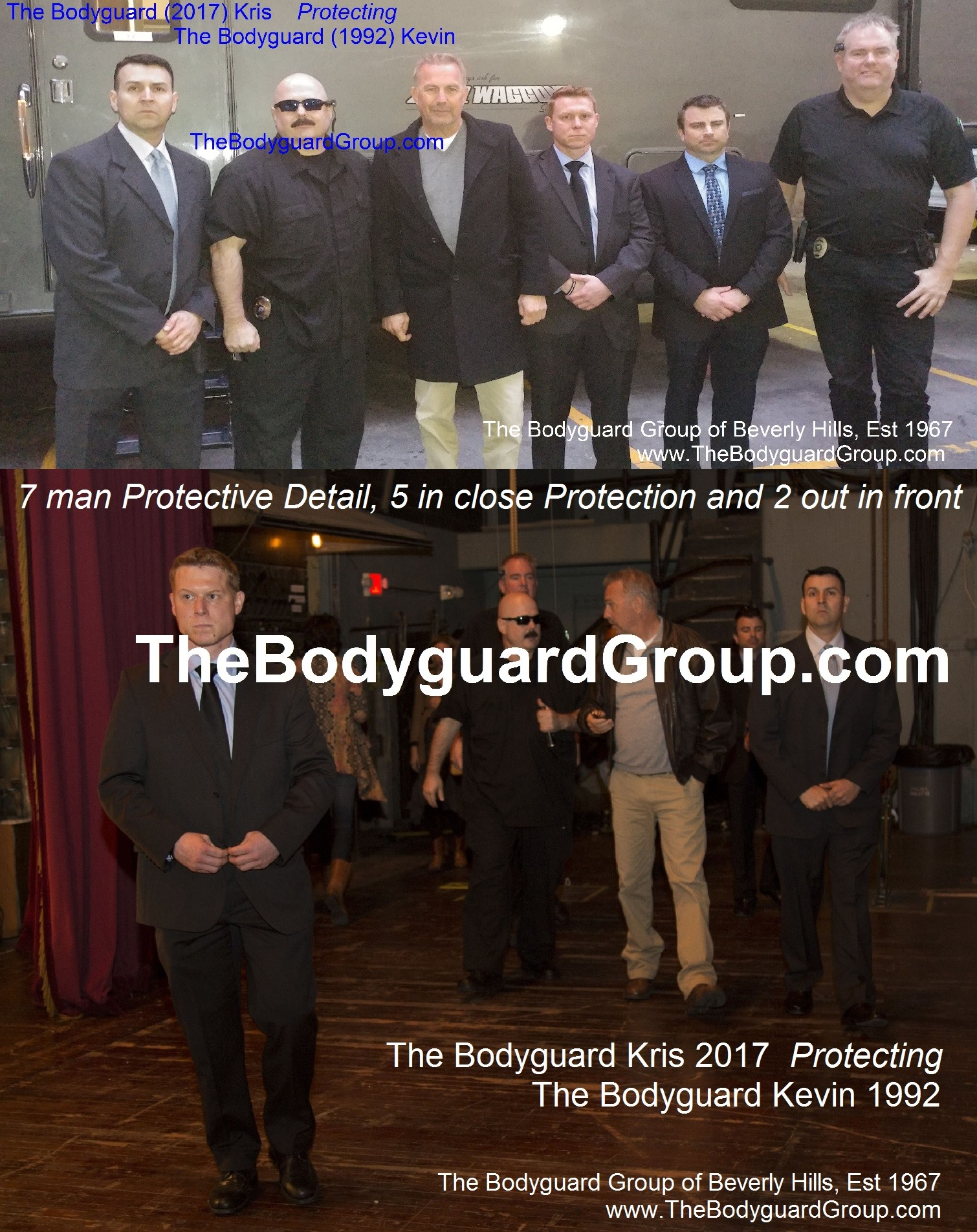 Celebrity Bodyguard Services