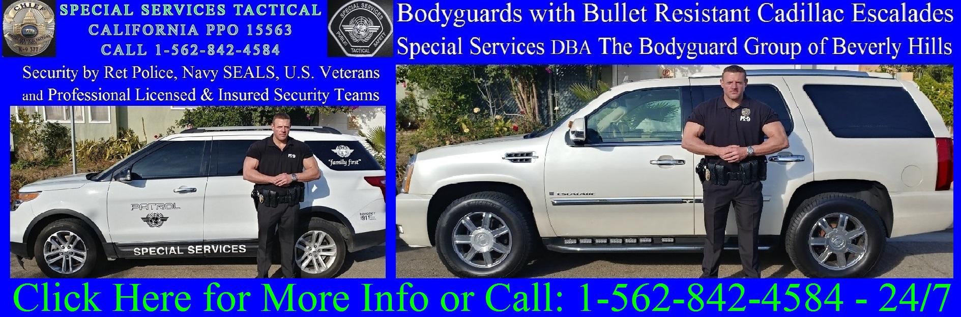 Personal Bodyguard Los Angeles