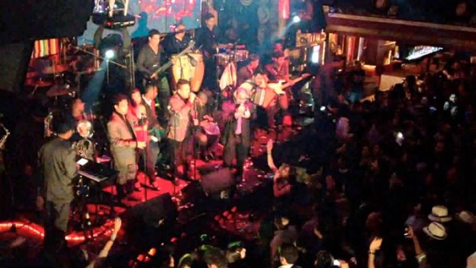Bogota nights out, Matildelina