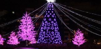 Christmas lights in Bpgotá