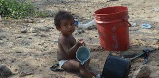 La Guajira children, Malnutrition La Gaujira
