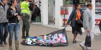 Bogotá street vendors
