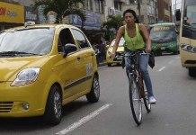 Bogotá traffic