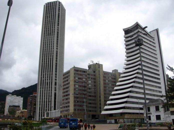 Bogotá architecture, Aseguradora del Valle, Torre Colpatria, Bogotá buildings,