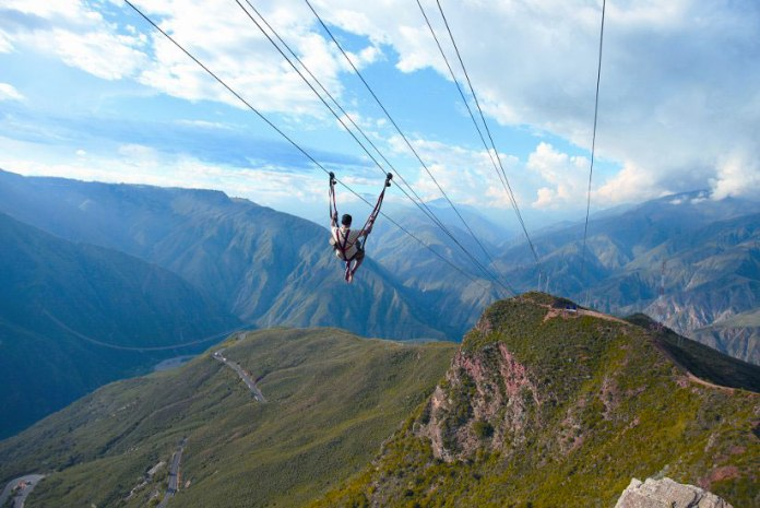 Canyon Chicamocha, San gil, Adventure sports Colombia