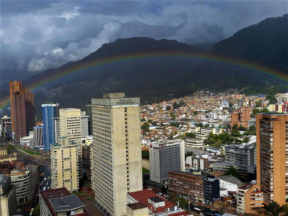 Weathering the Bogotá weather
