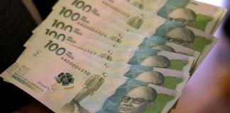 billete de 100 mil, new 100 mil note colombia
