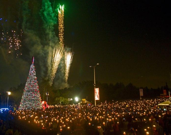 Noche de Velitas, Bogotá Christmas