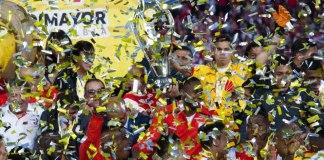Santa Fe FC Bogotá. Liga Águila