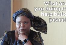 Leymah Gbowee, Nobel Peace Laureate Bogotá