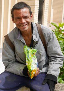homelessness bogotá, Bogotá's homeless