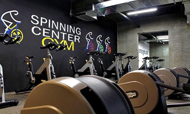 Gym routine, Spinning Center Bogotá
