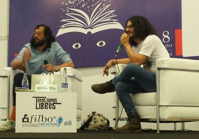 Emiliano Monge, Daniel Ferreira, FILBo 2017