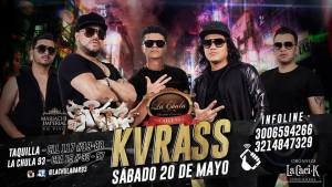 Kvrass en concierto, noche de brincoleo, mariachi y mucha rumba @ La Chula 93 | Bogotá | Bogotá | Colombia