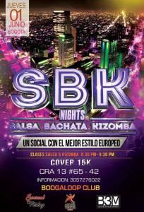 SBK Nights @ Boogaloop Club | Bogotá | Bogotá | Colombia