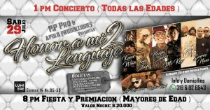 Honor a mi Lenguaje 2 @ Auditorio Lumiere | Bogotá | Bogotá | Colombia