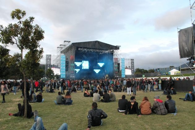 Monday at Rock al Parque, Rock al Parque 2017