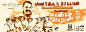 Juan Piña y su Big Band + Los Gaiteros de San Jacinto @ Teatro Jorge Elicier Gaitán   Bogotá   Bogotá   Colombia