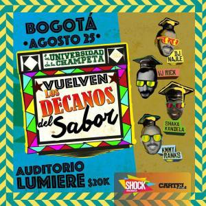 Los Decanos del Sabor! @ Auditorio Lumiere | Bogotá | Bogotá | Colombia