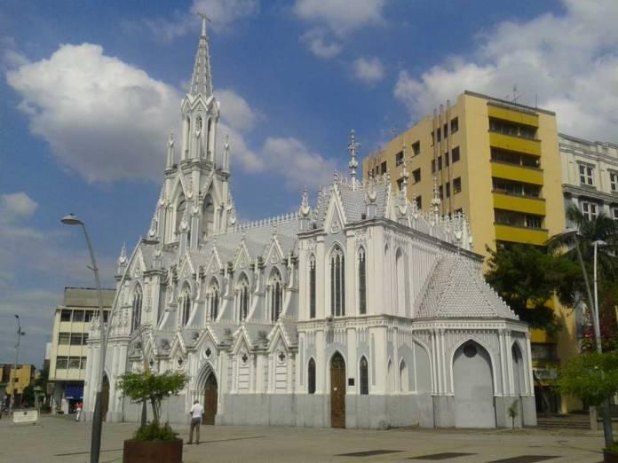 Cali Colombia, iglesia Ermita