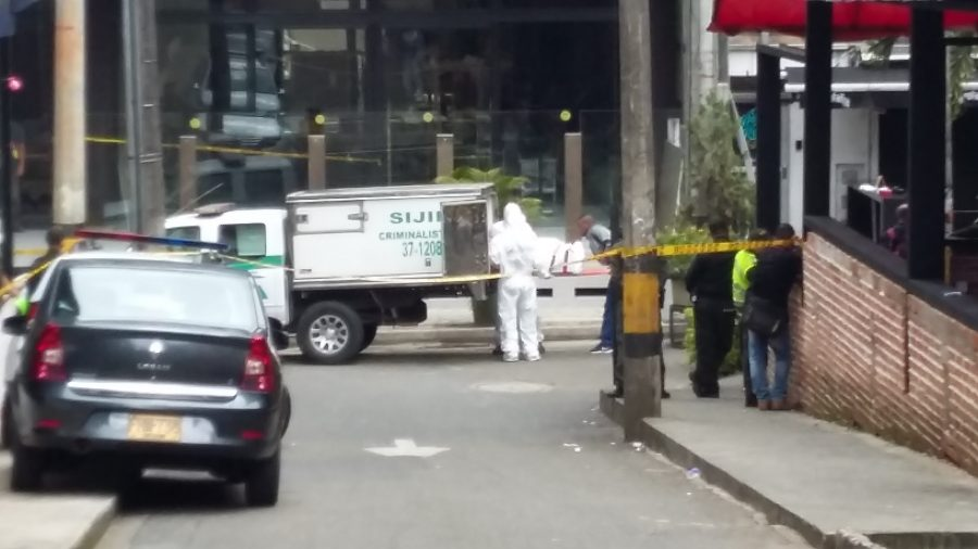 Body found in suitcase near Medellin's party hotspot Parque Lleras