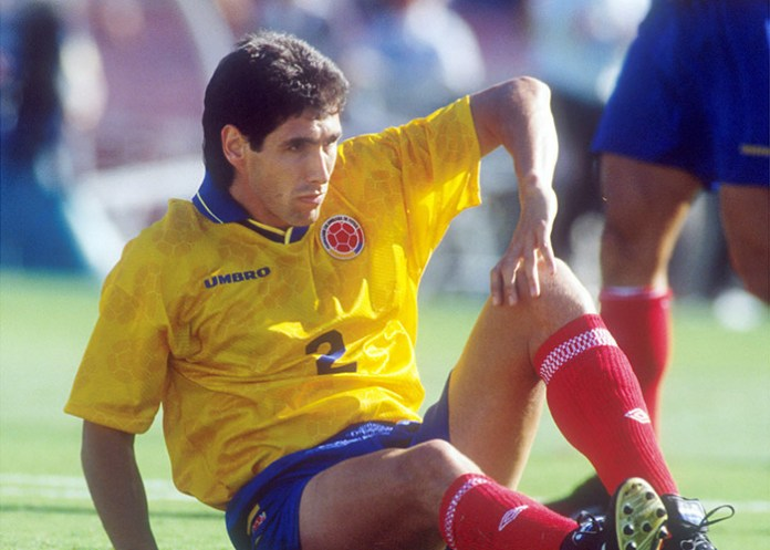 The Assassination Of Andres Escobar Is One Of The Blackest Hours In This Countrys Sports History As A Result Of An Own Goal Colombia Was Eliminated From