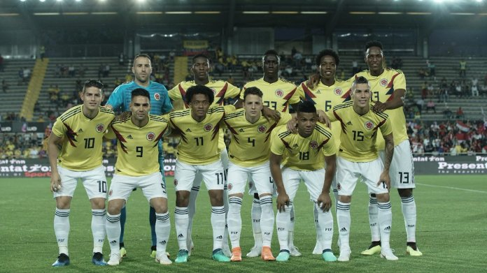 Colombia's 2018 World Cup squad