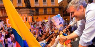 Colombian president