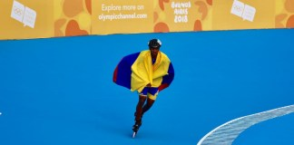 Colombian Youth Olympic Athlete