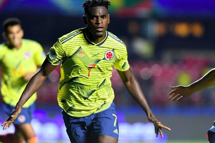 Colombia vs Paraguay, Duván Zapata