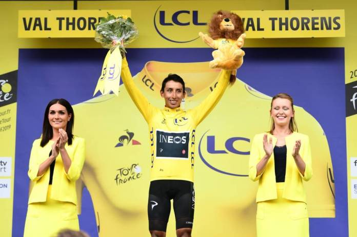 Egan Bernal can be the first Colombian Tour winner in history.