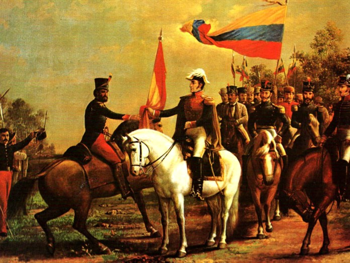 The battle of Boyacá is seen as the end of the independence fights and start of 200 years of Colombia