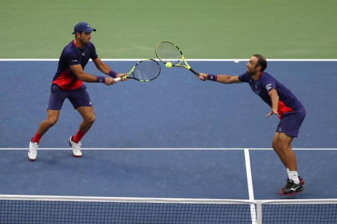 It is Cabal and Farah's second grand slam title together.