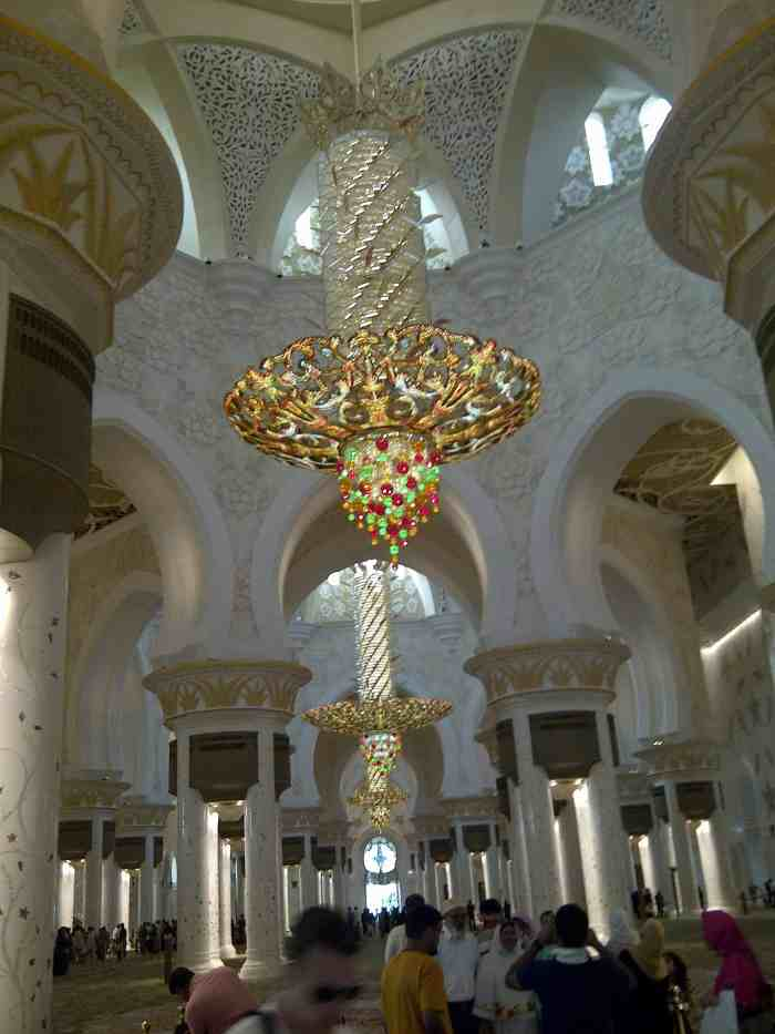 The Sheikh Zayed Grand Mosque Abu Dhabi