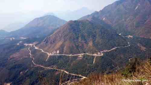 Motorbiking on these roads can be quite the adventure- Interesting travel experiences in Asia