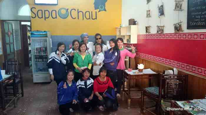 With my lovely class in Sapa, Vietnam