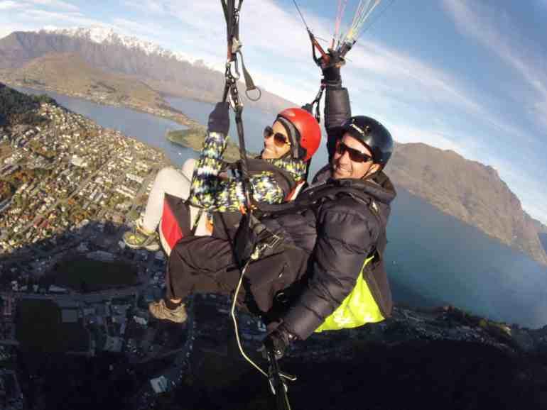 Paragliding Queenstown New Zealand