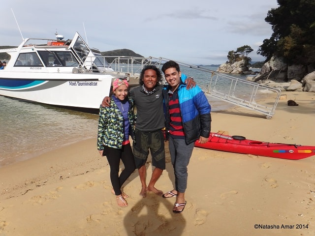 Thank you Richard! Abel Tasman Kayak and Walk