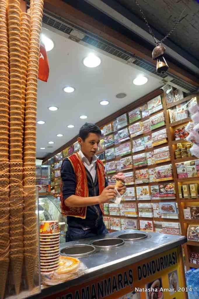 Dondurma Seller First Impressions: Istanbul & Istiklal Street