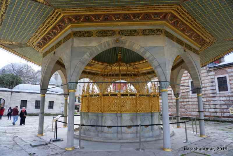 Aya Sofya Fountain- aya sofya istanbul