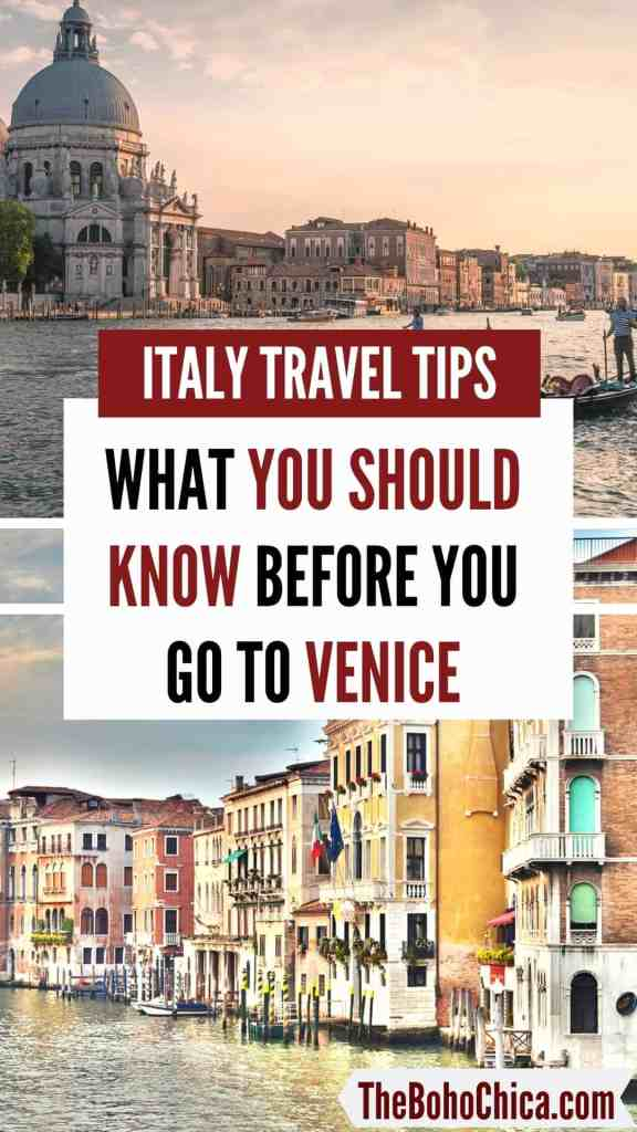 Things to know before you go to Venice: As one of the most touristy cities in the world, here are the top things you should know about traveling to Venice before you go, to plan your trip and make the most of your time visiting Venice. Avoid the tourist traps and don't get ripped off!  #Venice #TravelTips #VeniceTravel