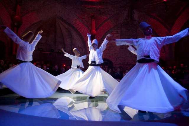 hodjapasha 2 Whirling Dervishes in Istanbul