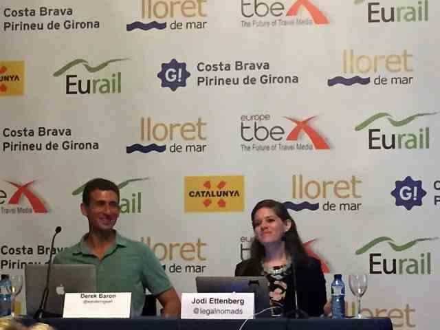Derek and Jodi TBEX Europe 2015