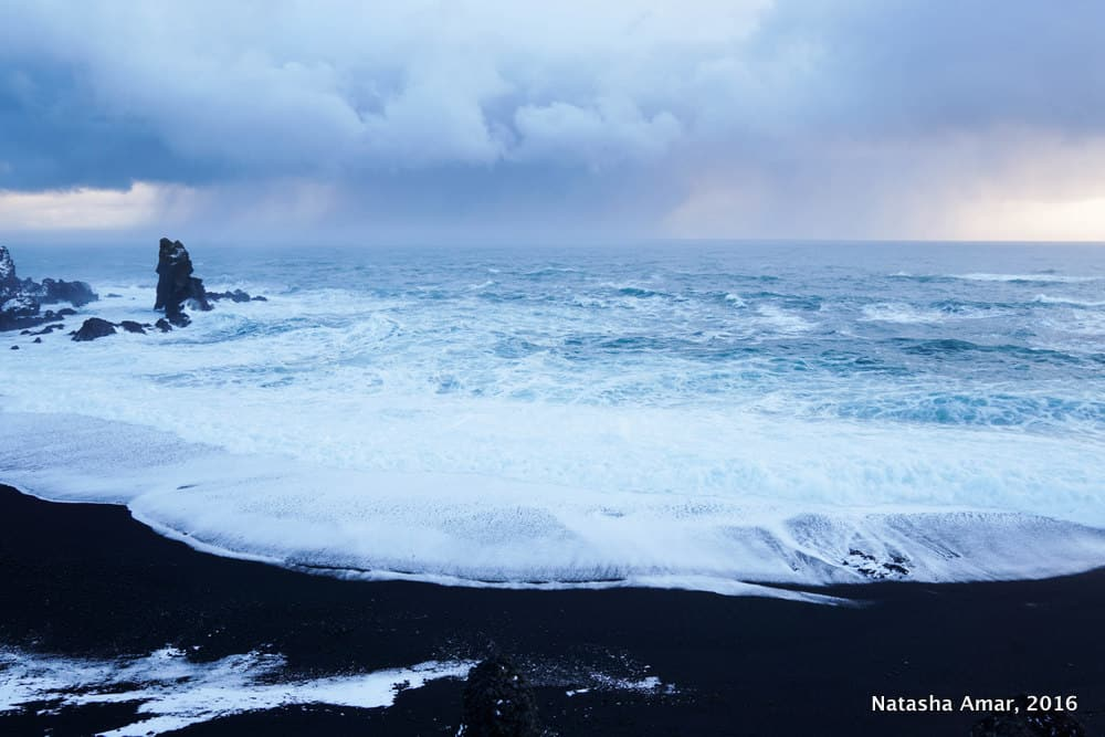 Djupalonssandur- West Iceland Highlights- Snaefellsnes Peninsula: Remote and dramatic landscapes minus the crowds of the South Coast of Iceland, the Snaefellsnes Peninsula should be a must-do on your Iceland itinerary.
