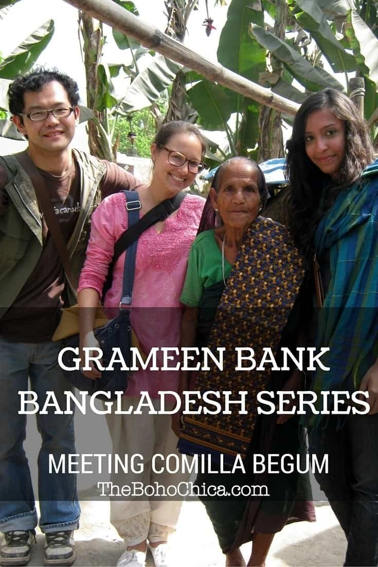 Grameen Bank Bangladesh: Meeting Comilla Begum