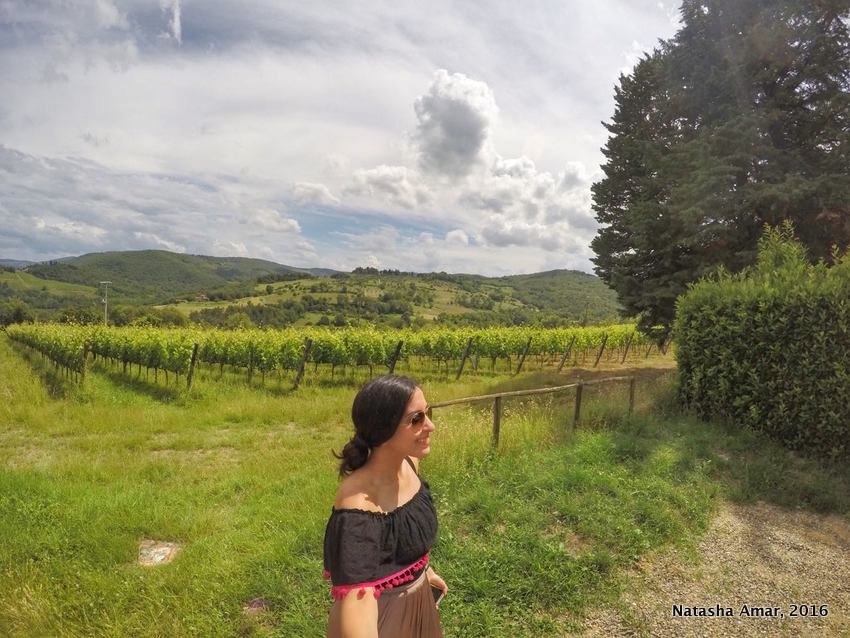 Tuscany wine trail