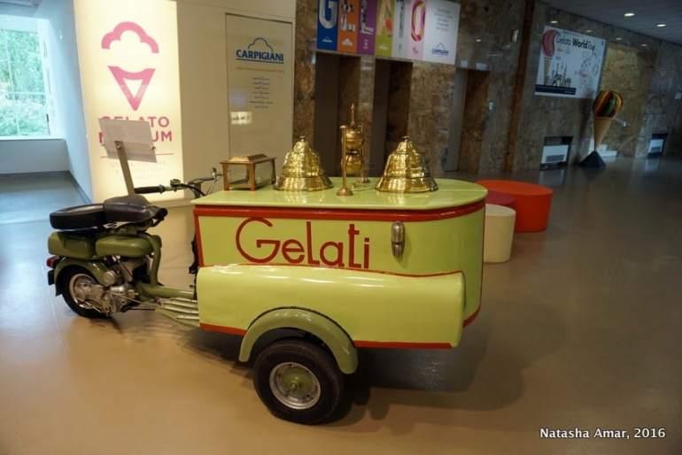 The world's only gelato university at the Carpigiani Gelato University Italy