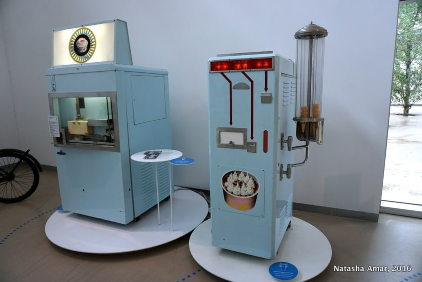 Gelato museum at the Carpigiani Gelato University Italy
